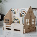 "Domek dla lalek ""Single House"" - rainbow"